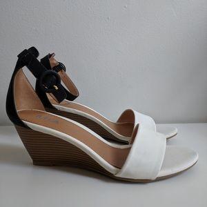 Mia Haylyn Ankle-Strap Wedge Heel / 8.5